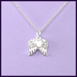 Heart with Angel Wings (moveable)
